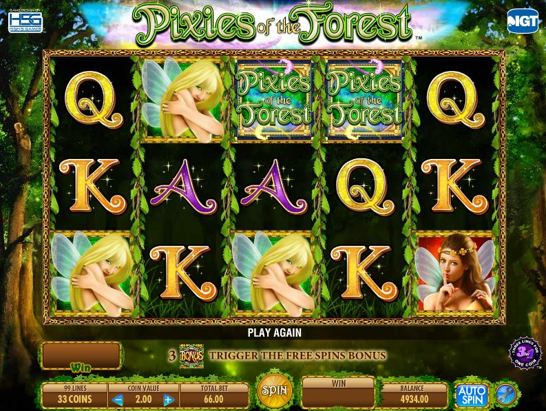 Pixies Of The Forest 2 Free Play
