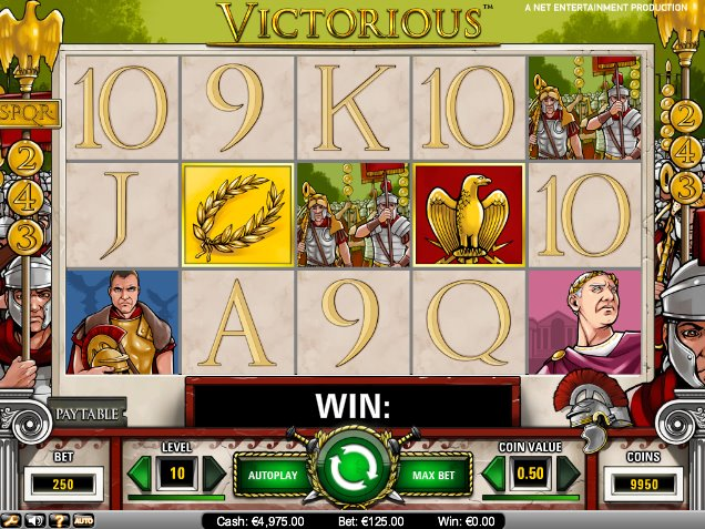 Spiele Victorious - Video Slots Online