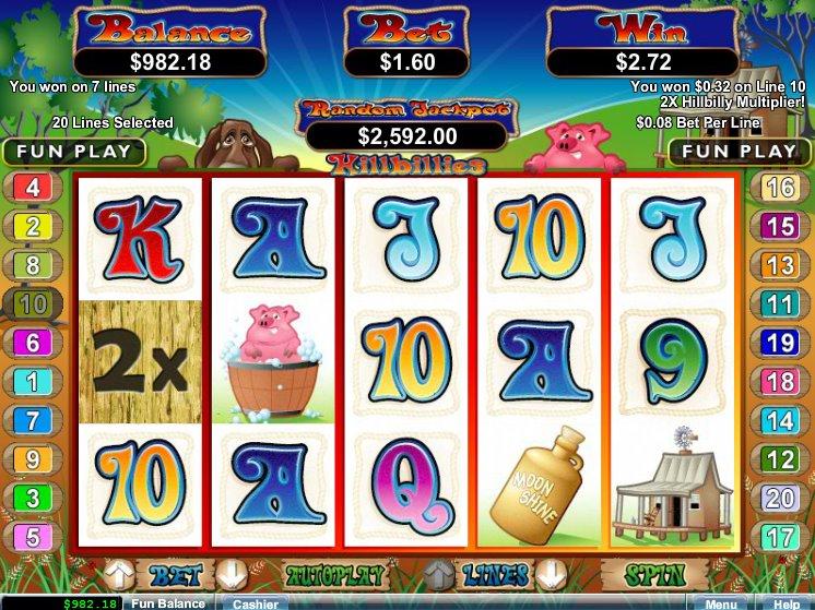 Hillbillies Slot Machine Online - Play Free RTG Slots Now