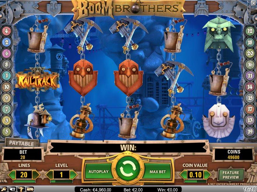 Boom Brothers Slot