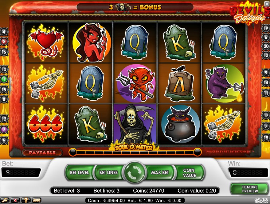 Devils Delight - This Online Slot is Going to Hell