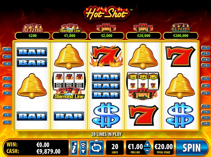 Hot Shot™ Slot Machine Game to Play Free in Ballys Online Casinos