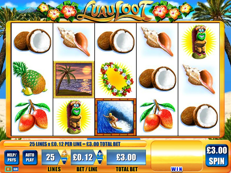 Luau Loot Slot Machine - Play Free Casino Slots Games Online