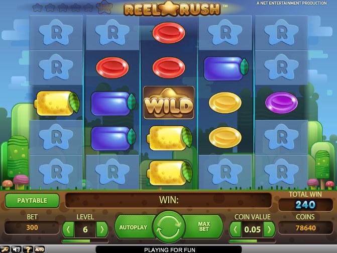 Reel Rush Winner - Mobil6000