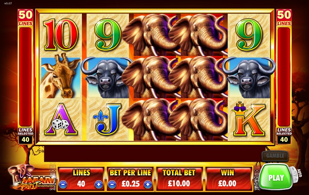 slot games safari