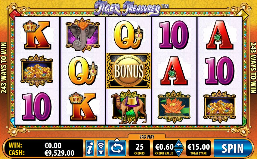 Tiger Treasures Slot Machine - Play Tiger Treasures Free Online