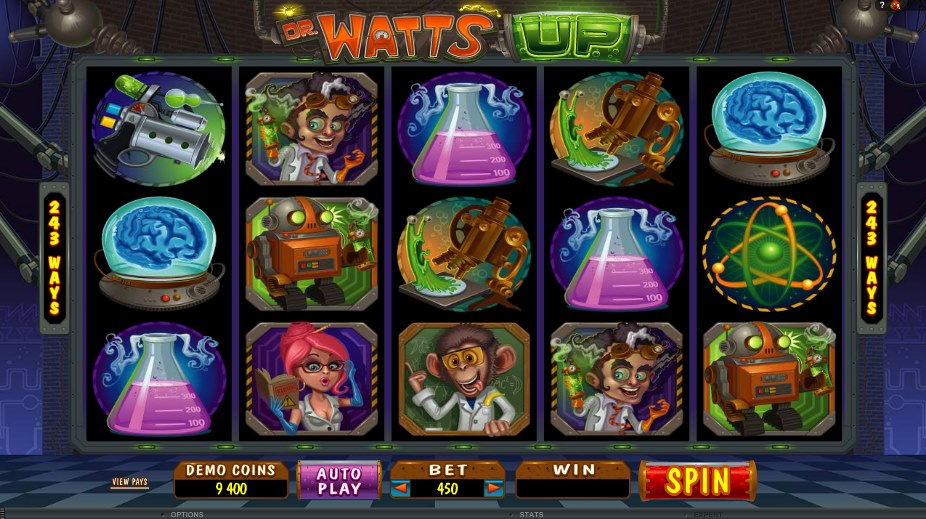 Dr watts up slot machine online microgaming reviews cheats