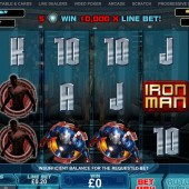 Iron Man 3 Slot