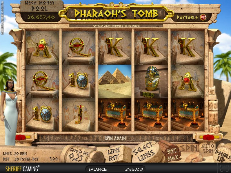 Pharaohs Tomb slot - welcome to the ancient Egypt