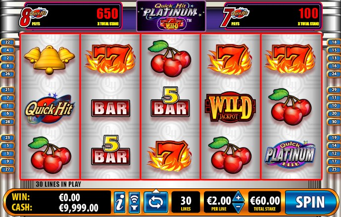 Bally Quick Hit Slots Online