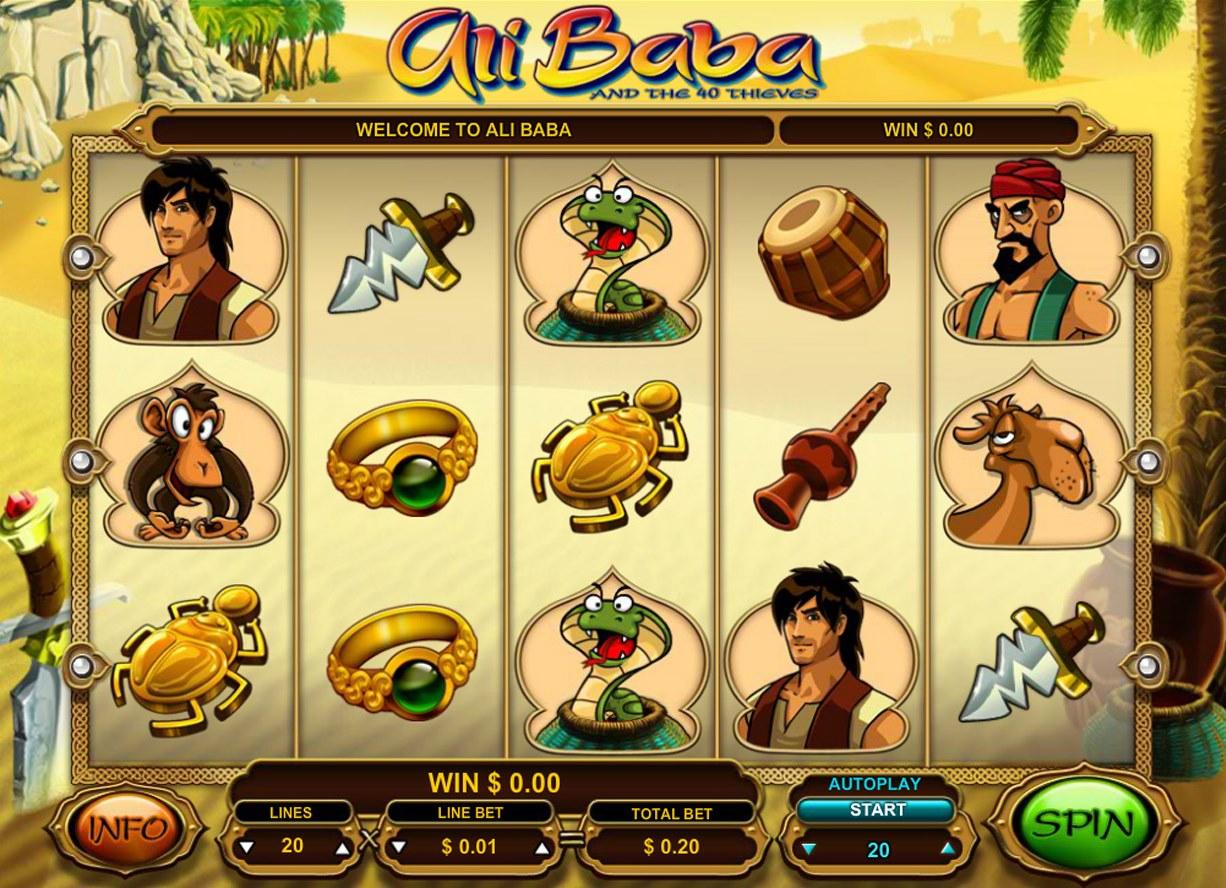 free ali baba slots game