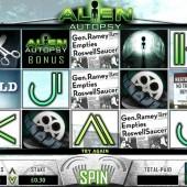 Alien Autopsy Slot