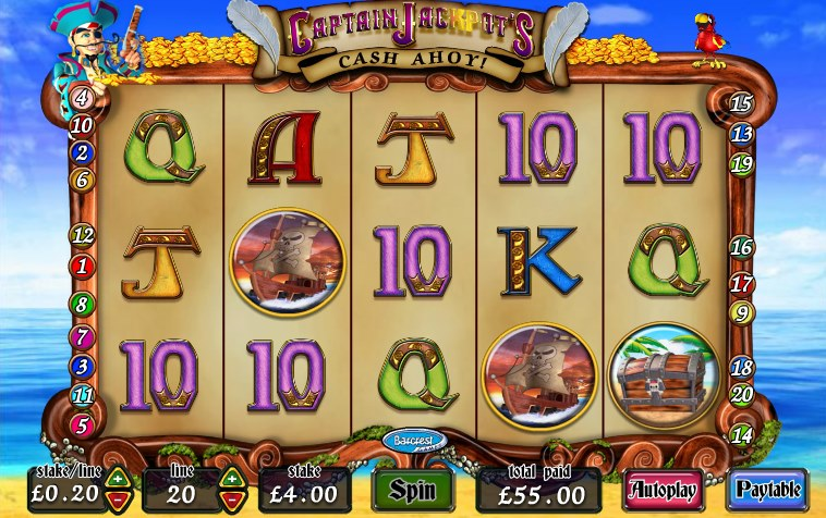Captain Shark Slots - Play Online or on Mobile Now