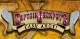 Captain Jackpot's Cash Ahoy! Logo