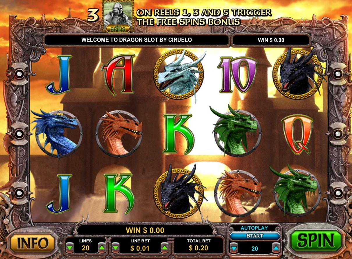 Mighty Dragon Slot Machine Review & Free Instant Play Game