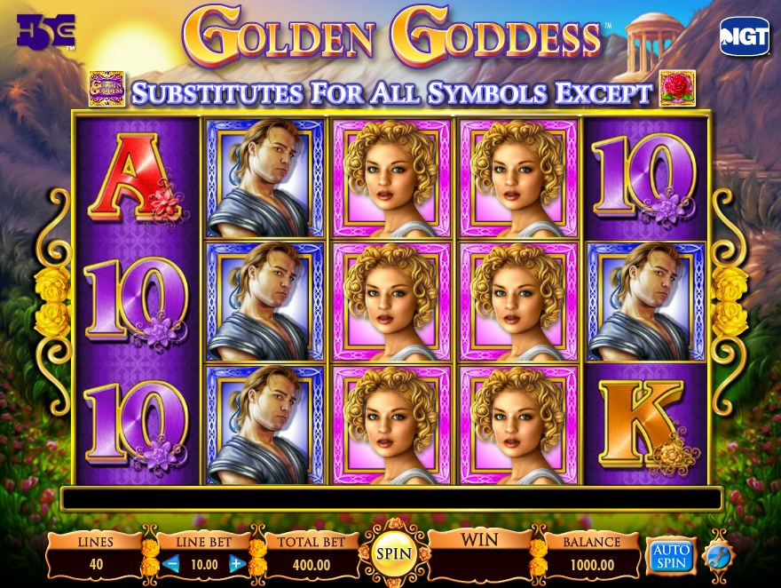 Aztec Goddess Slot Machine - Play this Game for Free Online
