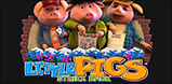 Cover art for Little Pigs Strike Back slot