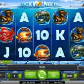 Lucky Angler - A Snowy Catch Slot