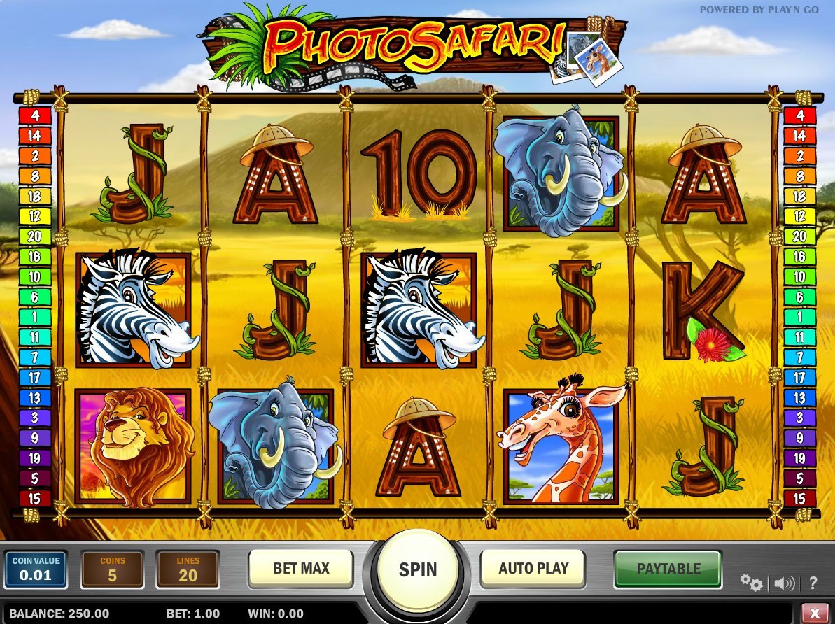 Photo Safari Play 'n' Go online slot