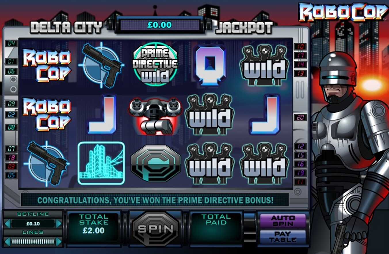 Robocop Slot - Play the Free Fremantle Casino Game Online