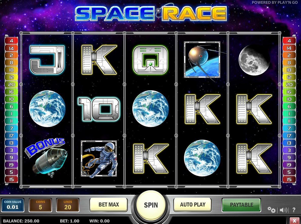 Space Slots - Play Free Online Slot Machines in Space Theme