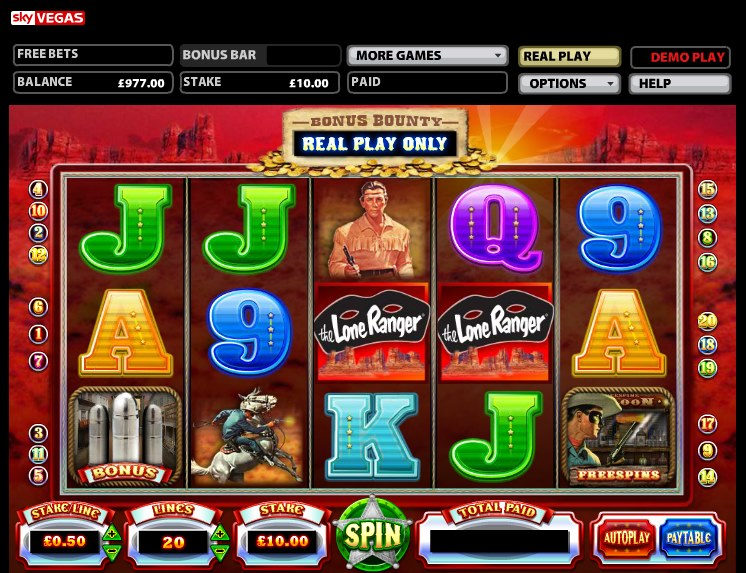 Lone Ranger Slot Machine - Play Online for Free Now
