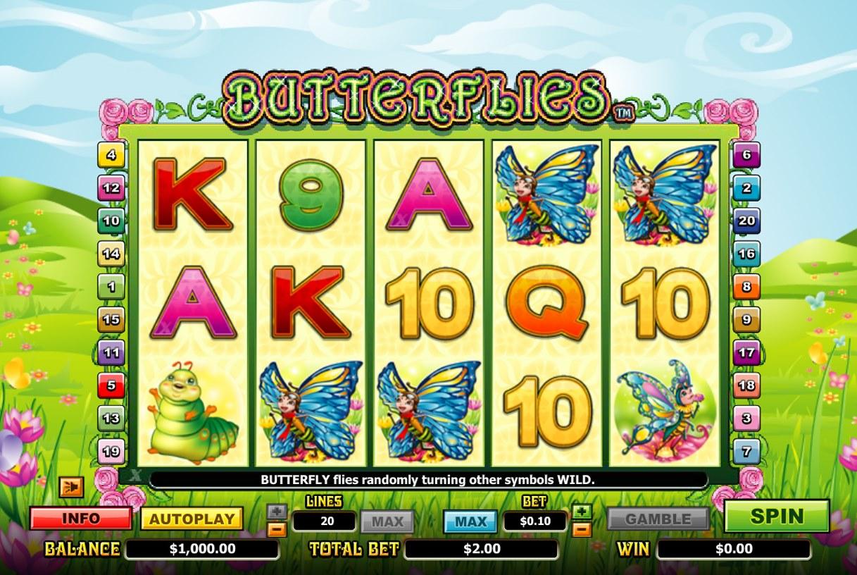 Spiele Butterflies - Video Slots Online