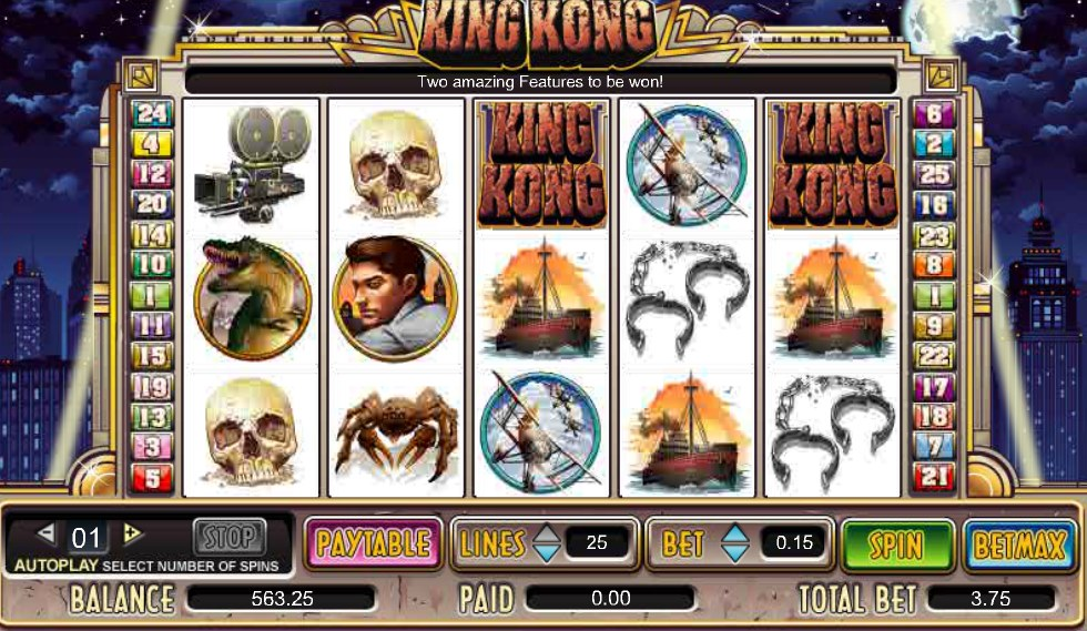 slot free king kong