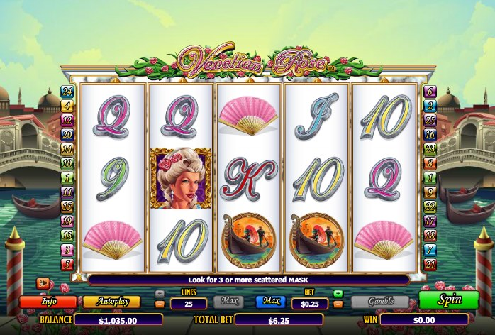 Spiele Rose Of Venice - Video Slots Online
