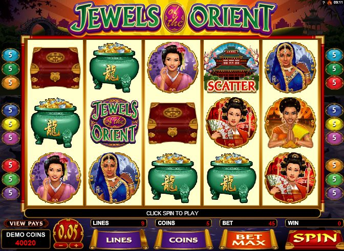 Spiele Jewels Of The Orient - Video Slots Online