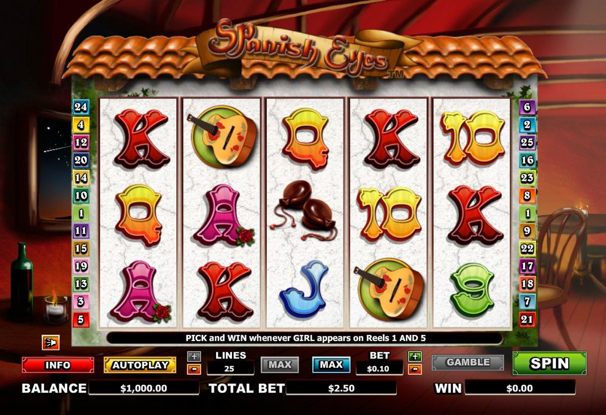 slots in spanish