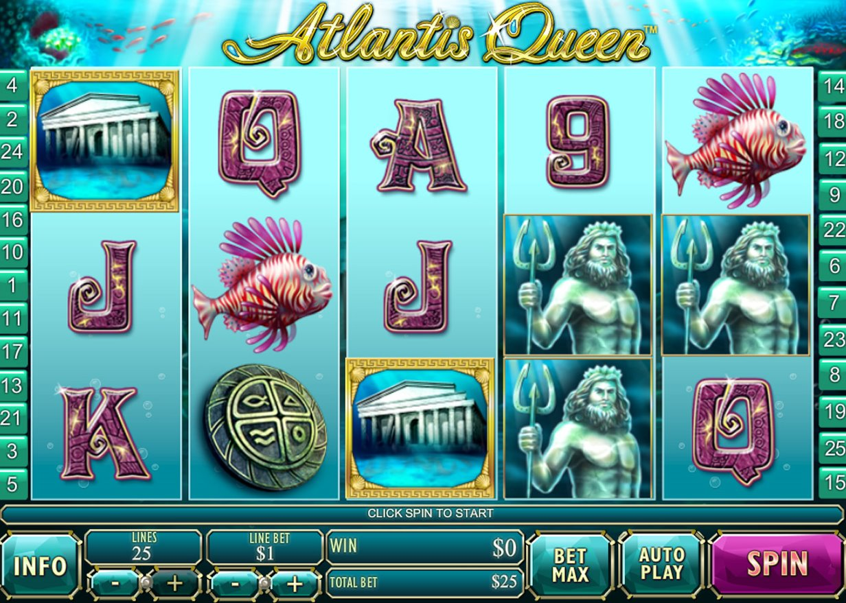 free slots queen of atlantis