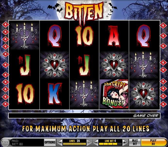 Bitten Slots Review – Play the Free Vampire Slot Game by IGT