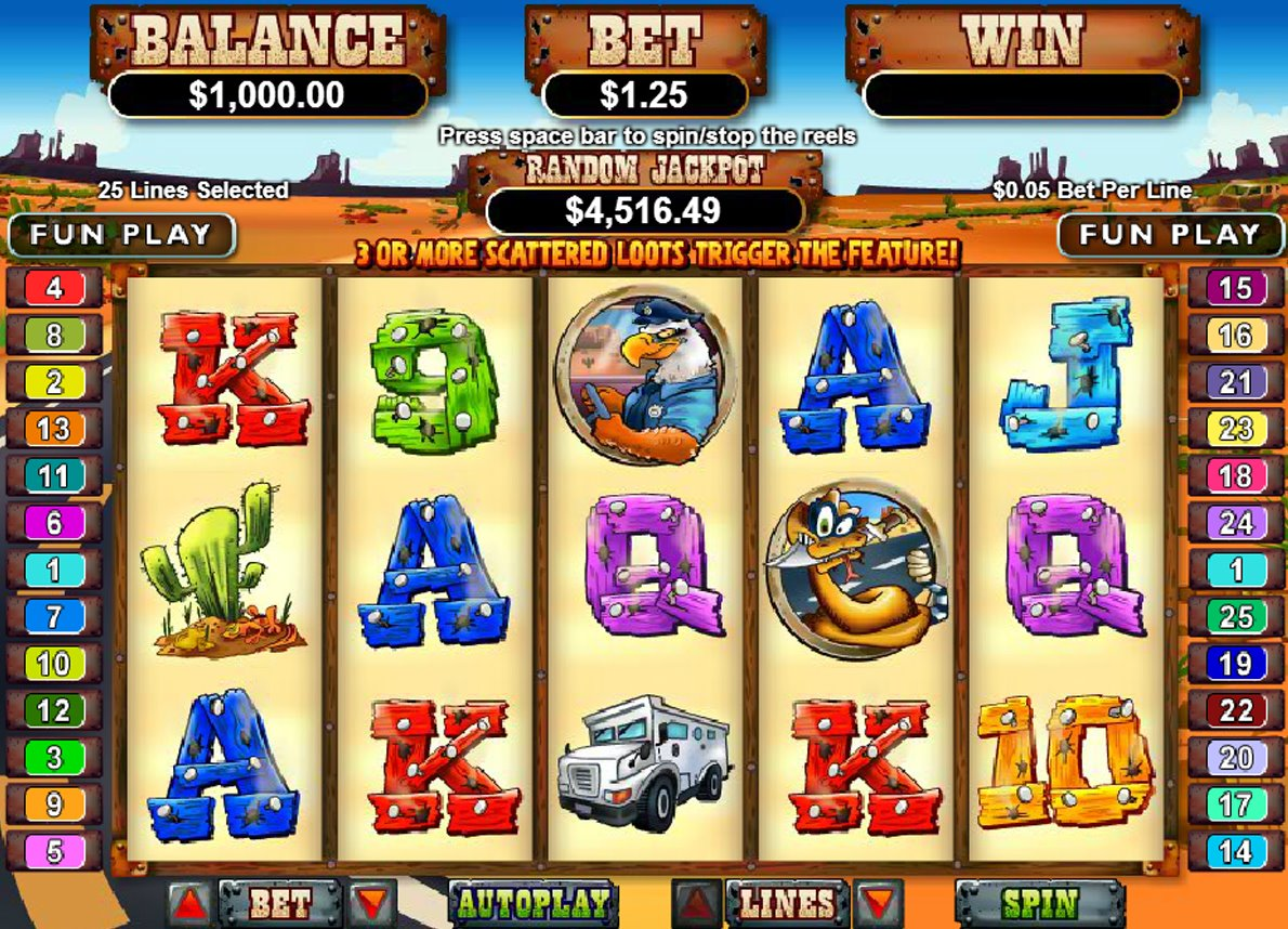 free online casino video slot games