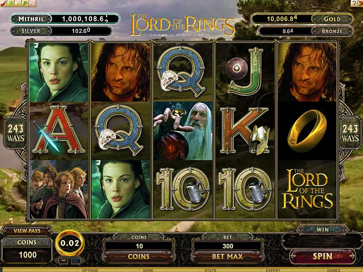 Lord of the Rings Slots - Mobile / Desktop Slot Machine