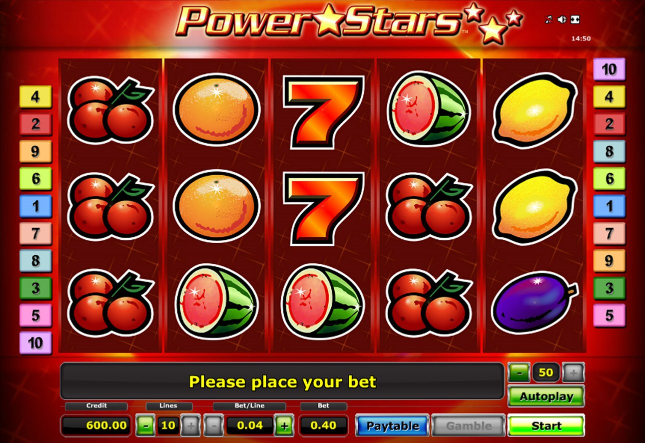 video slots free online power star