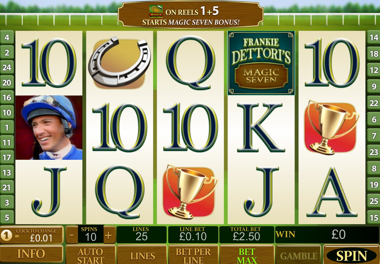Frankie Dettori Magic 7 Free Play