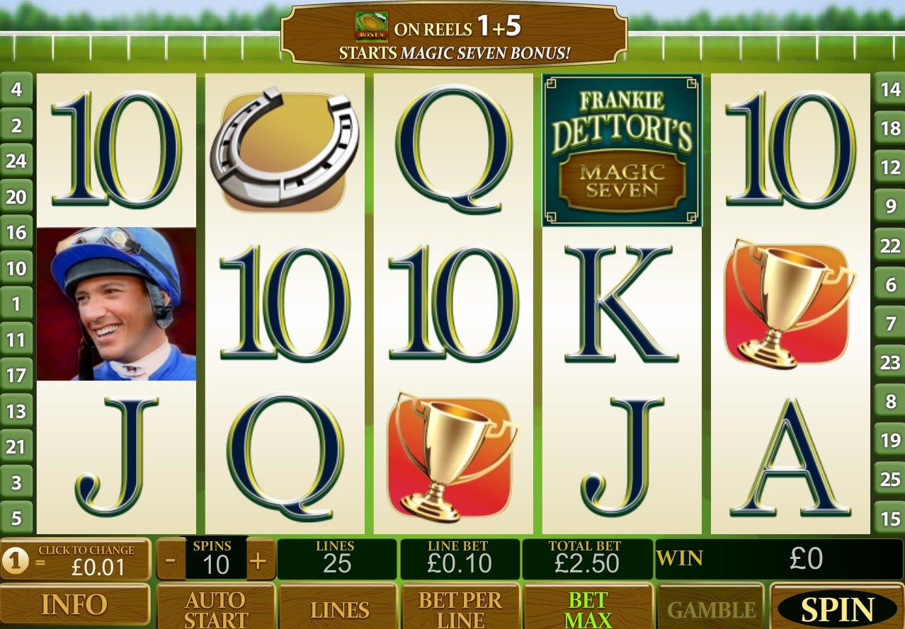 Frankie Dettoris Magic 7 Jackpot Slot Machine Online ᐈ Playtech™ Casino Slots