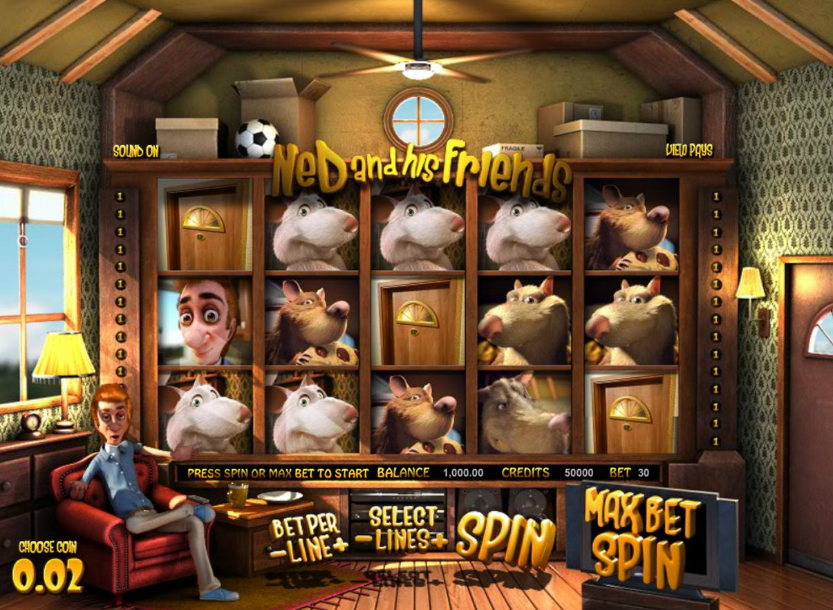 Ned and His Friends Slots - Play Ned and His Friends From BetSoft