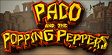 Cover art for Paco and the Popping Peppers slot