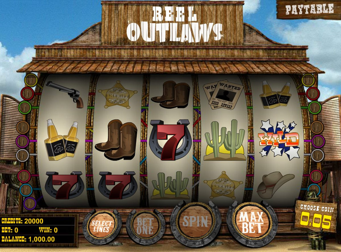 Reel Outlaws Slots - Play Reel Outlaws Slots for free