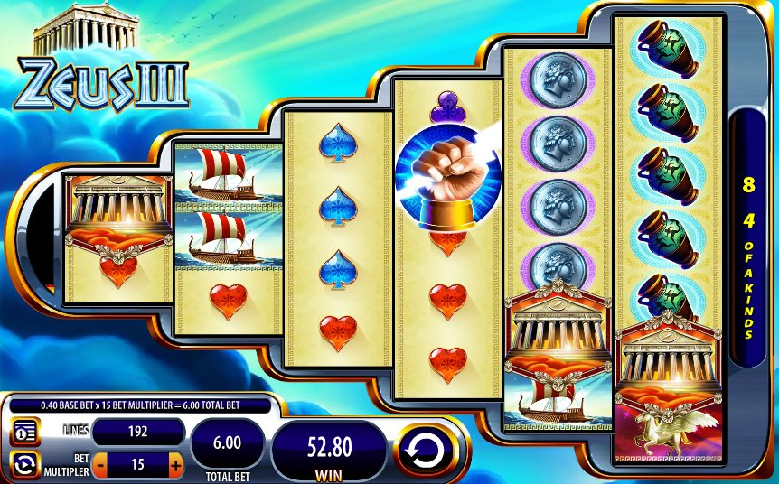Zeus slot machines free