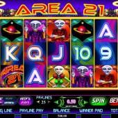 Area 21 Slot