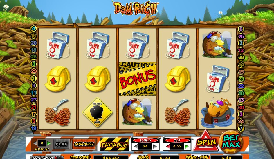 Dam Rich slot & gratis online casinospil