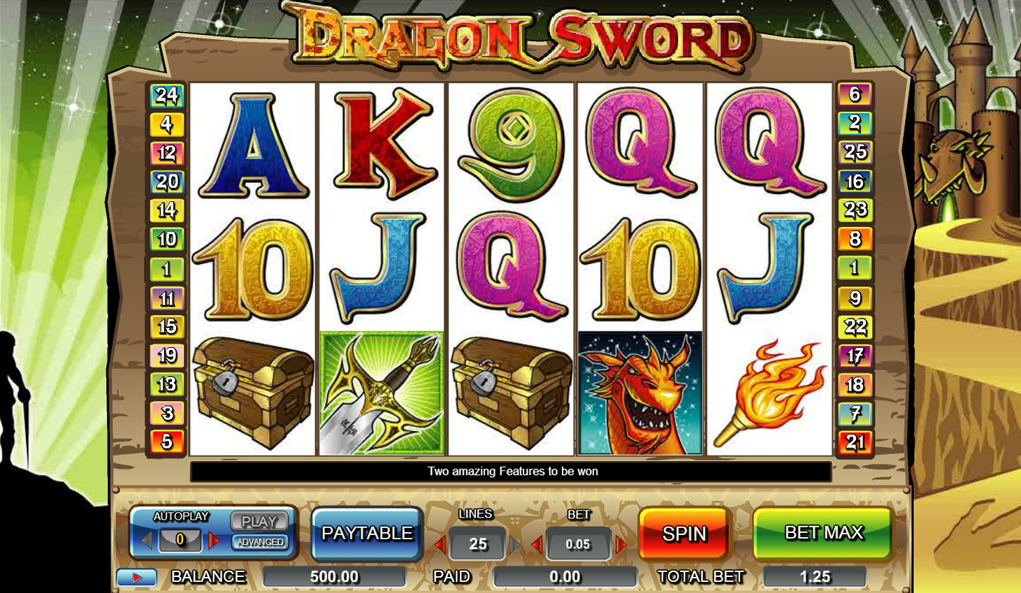 Spiele Dragon Sword - Video Slots Online