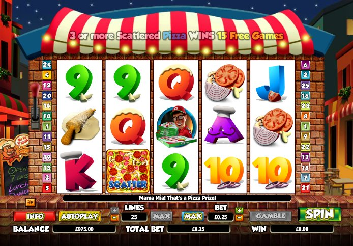 Pizza Prize Online Slot Machine – Try the Game Online Free