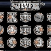 Sterling Silver 3D Slot