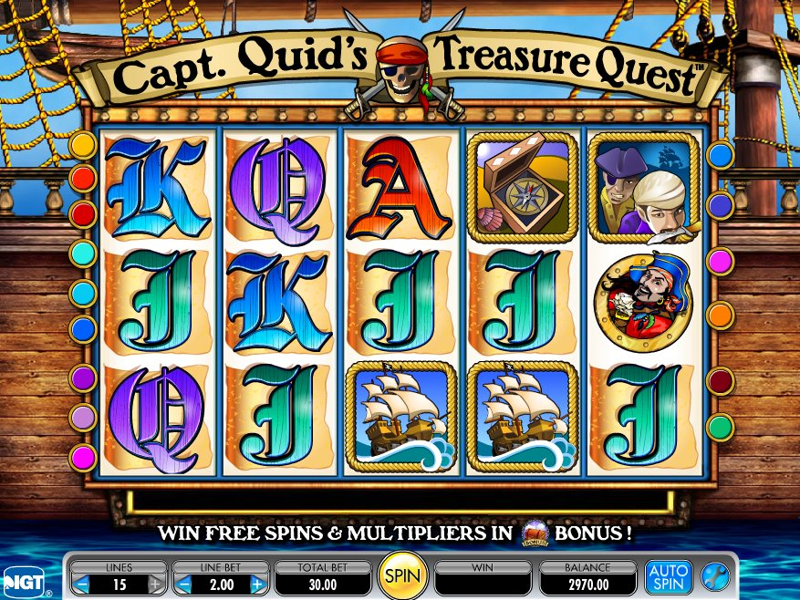 Spiele Pirates Quest - Video Slots Online