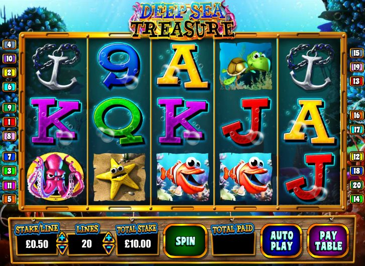 Underwater Cowboy Slot - Win Big Playing Online Casino Games