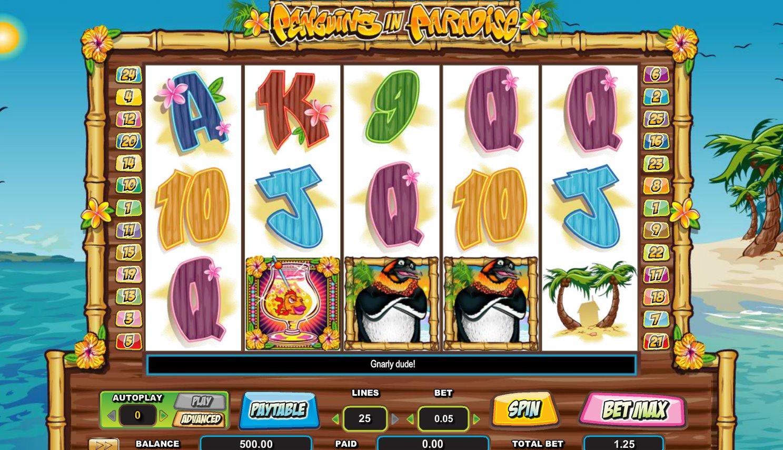 Penguins in Paradise slot - spil gratis online slots